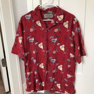 Vintage Palm Island Clothing Hawaiian Button Up